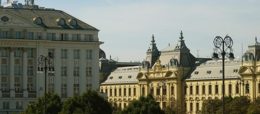 Hotel Esplanade Zagreb walking tour