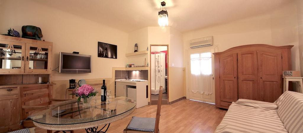 Zagreb city centre apartment Guesthouse Lessi livingroom